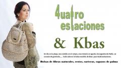 Bolsas de playa, capazos, mochilas, 4uatroestaciones&kbas