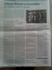 El país publica entrevista a alonso román @ asociados abogados. www.araabogados.es www.reclamatusles