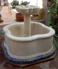 Fuente de patio