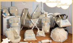 Colecciones de paseo artesanales: saco silla, saco cuco, saco capazo, bolso beb�... http://www.ropab