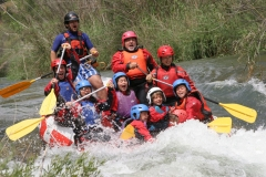 Rafting para toda la familia