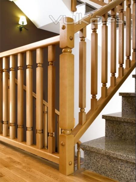 Pesquer escaleras y barandillas - Barandillas de madera para escaleras ...