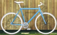 fixie moma bikes , azul turquesa (opini�n= muy veraniega)