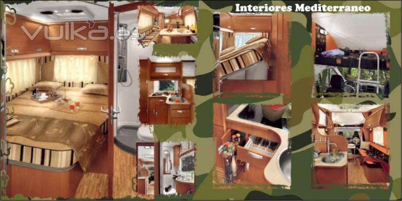 Foto interiores mediterraneo - Interiores de caravanas ...