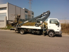 Camiones con cestas de 14 y 18 metros