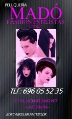 Madó fashion estilístas peluquería y estética unisex