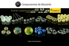 Promoci�n de abalorios www.componentesdebisuteria.es