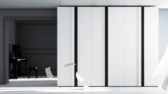 Bonito armario combinado en color blanco y vulcano