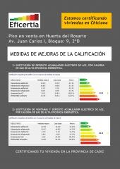 Certificación energética en chiclana