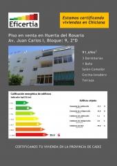 Certificado energético en chiclana