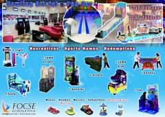 Boleras - bowling - mini bowling - recreativos - redemptions - mini boleras. franquicias - alquiler
