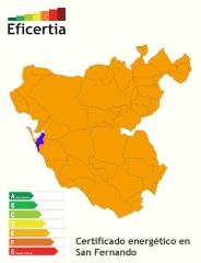 Certificado energético/eficiencia energética san fernando