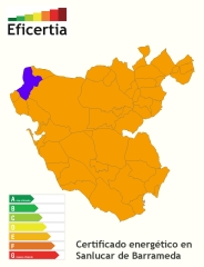 Certificado energético/eficiencia energética sanlucar de barrameda