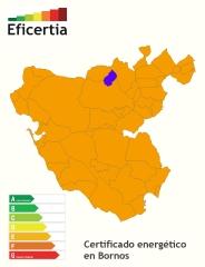 Certificado energ�tico/eficiencia energ�tica/calificacion energ�tica bornos