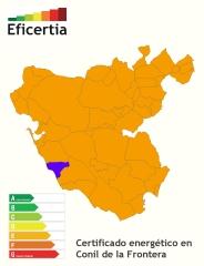Certificado energético/eficiencia energética conil