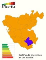 Certificado energético/eficiencia energética los barrios