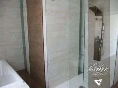 Baño principal de habitación tipo suite de casa construida en valencia por nuestra empresa