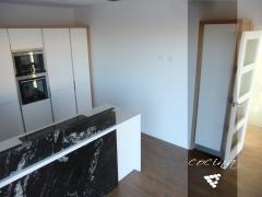 Imagen de la cocina realizada en proyecto de construcción de vivienda en Albal - Valencia