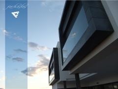 Fachada casa construida por CEF Valencian en Albal Valencia