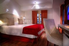 Habitación doble superior con jacuzzi/hidromasaje y cama king size