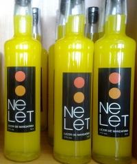 Nelet, licor de mandarina