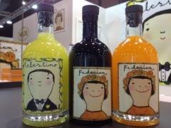 Federica, licor de Naranja, y Don Celestino de Limon,