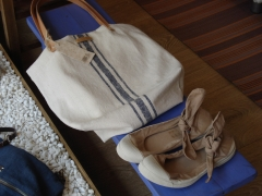 Bolso: comme ci comme sac  zapatos: bensimon