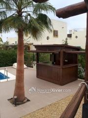 Caseta chiringuito para piscina de uso privado. www.navarrolivier.com