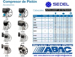 Cabezales compresores de pist�n Abac 2013