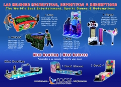 Boleras, Bowling, Mini Boleras, Infantiles, Recreativos.Venta, Franquicias  2- www.focse.com