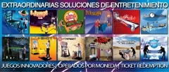 Maquinas recreativas, recreativos, redemption, boleras, infantiles, kiddies rides | www.focse.com