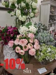 Flores artificiales gran calidad - sia home fashion en www.articoencasa.com