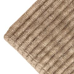 Alfombra ba�o stripes beig oscuro 1 - la llimona home