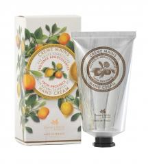 Crema de mano de alta calida, extre nutriente, aromas citricos en Línea Baño