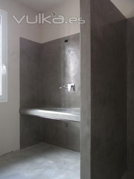 Foto microcemento para suelos y paredes - Microcemento para suelos ...