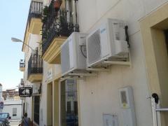 Climatizacion oficinas aqualia en san juan del puerto huelva
