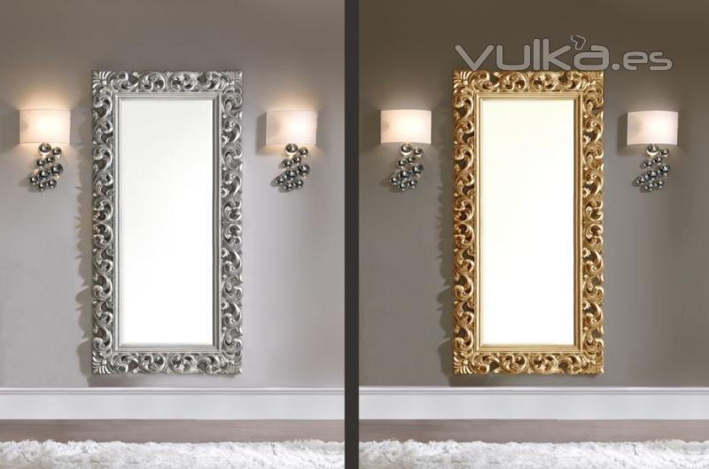 Foto espejos grandes y con dise o muy elegante - Espejos grandes para salon ...