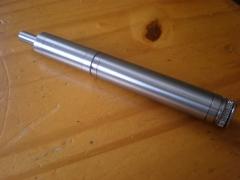 Vapeador, fabricado en AISI 303