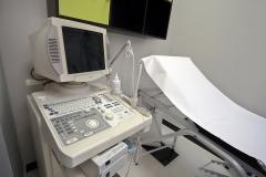 Vista de sala  exploracion de ginecologia- obstetricia