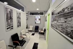 Sala de espera desde gabinetes medicina