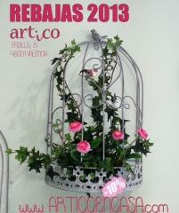 Hasta el 50% de dto. en tus mejores detalles de decoraci�n. las mejores marcas en articoencasa.com
