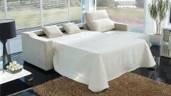 Imagen del sof� cama montado
