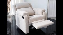 Butaca para el dormitorio reclinable
