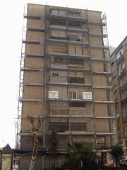 Remodelación fachadas edificios en avda. san juan de dios (ceuta)