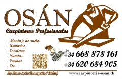 Carpintería osán - carpinteros profesionales la línea gibraltar sotogrande guadiaro algeciras