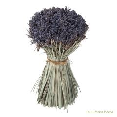 Arreglo floral violet lavanda artificial redondo 30 - la llimona home