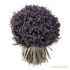 Arreglo floral violet lavanda artificial redondo 30 1 - la llimona home