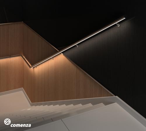Sistema de pasamanos con luces LED JF DECOLED
