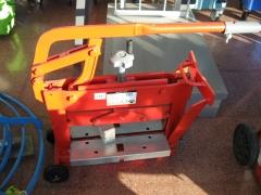 Maquina para cortar terrazo rubi