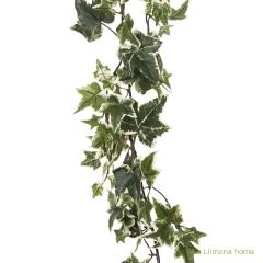 Planta artificial colgante guirnalda hiedra natural bicolor 170 2 - la llimona home